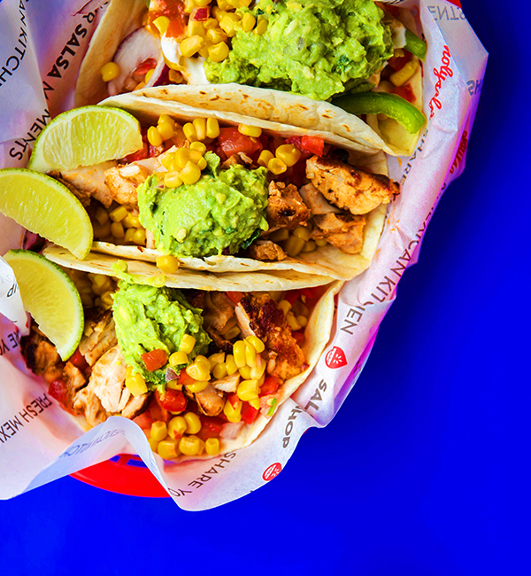 Triple tacos