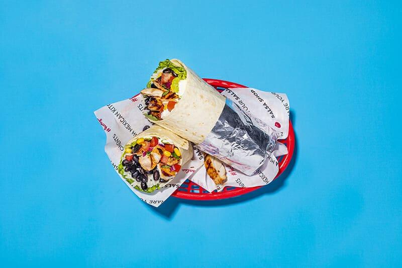 Salsa Shop pick up your burrito taco or salad