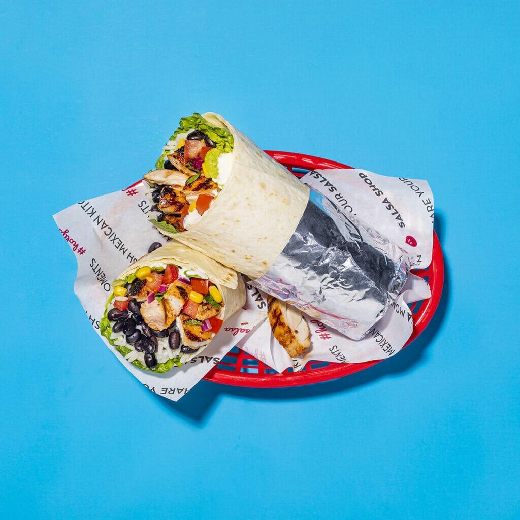SalsaShop burrito